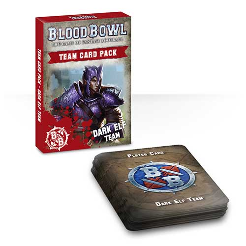Blood Bowl Team Card Pack – Dark Elf