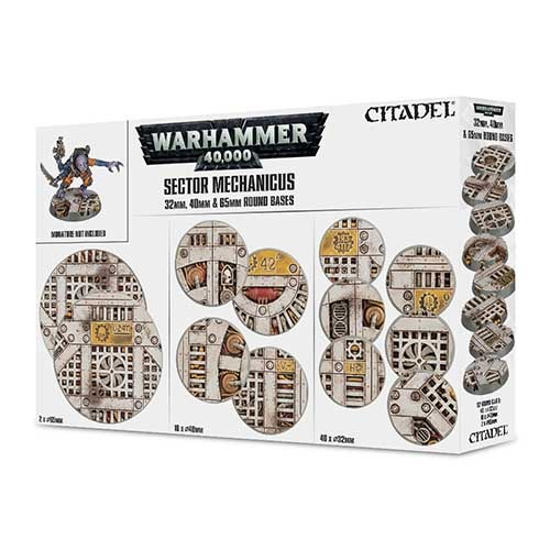 Sector Mechanicus 32mm/40mm/65mm Bases
