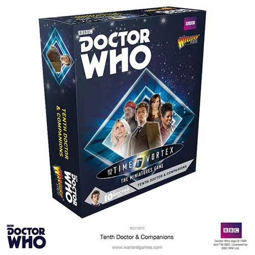 Tenth Doctor and Companions Set