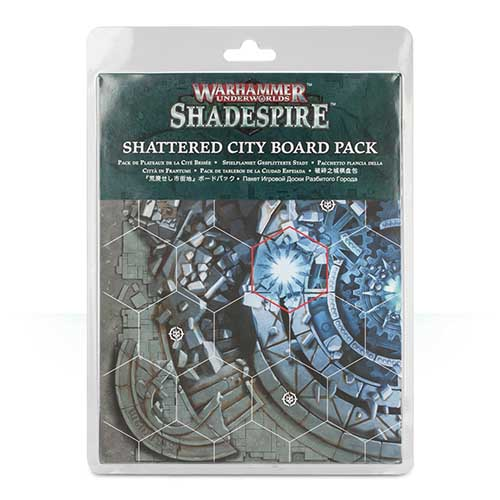 Shadespire – Shattered City Board Pack