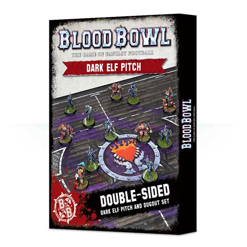 Blood Bowl Dark Elf Pitch & Dugout