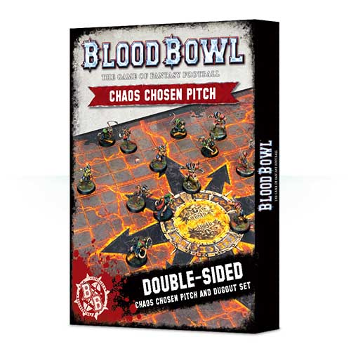 Blood Bowl Chaos Chosen Pitch & Dugout