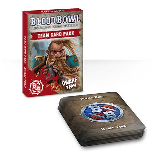 Blood Bowl Team Card Pack – Dwarves