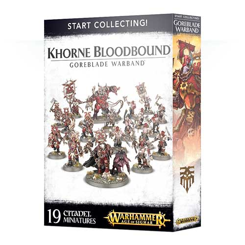 Pre-Order Start Collecting! Goreblade Warband