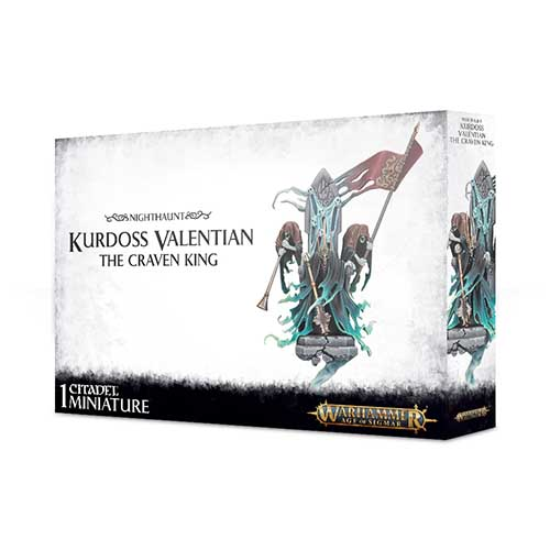 Pre-Order Kurdoss Valentian, The Craven King