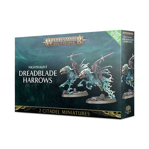 Pre-Order Easy to Build: Nighthaunt Dreadblade Harrows