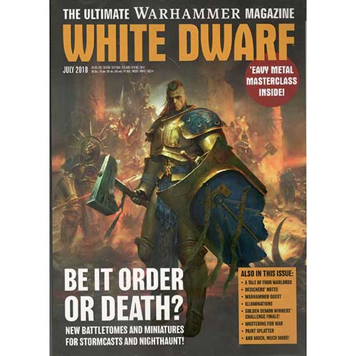 White Dwarf July 2018