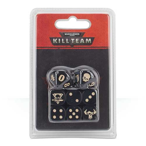Kill Team Orks Dice Set