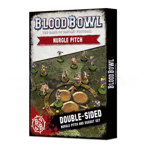 Blood Bowl Nurgle Pitch & Dugout