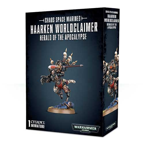Pre-Order Haarken Worldclaimer, Herald of the Apocalypse