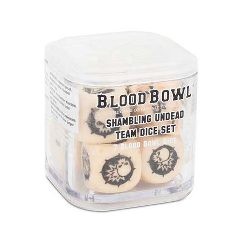 Blood Bowl: Shambling Undead Dice Set