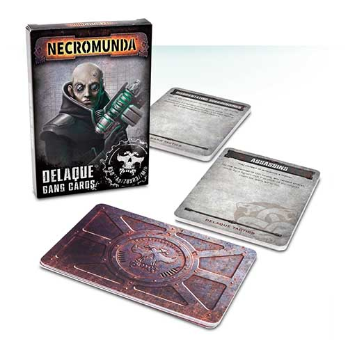 Necromunda: Delaque Gang Cards
