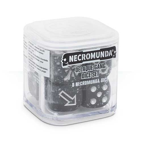 Necromunda: Delaque Dice Set