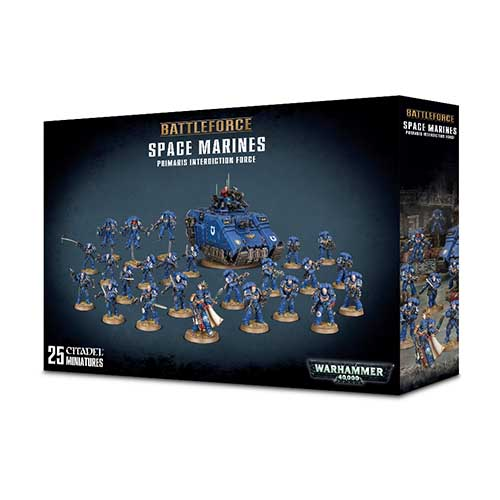 Space Marine Primaris Interdiction Force