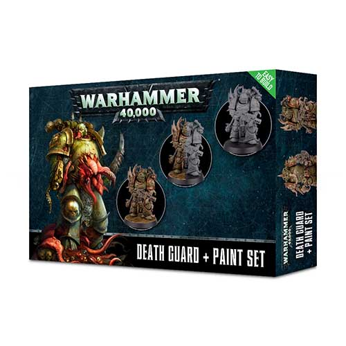Death Guard+ Paint Set