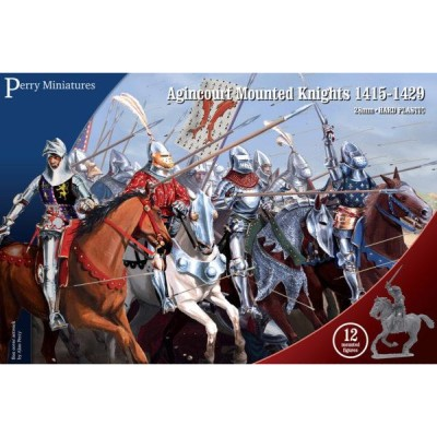 Mounted Agincourt Knights 1415-29
