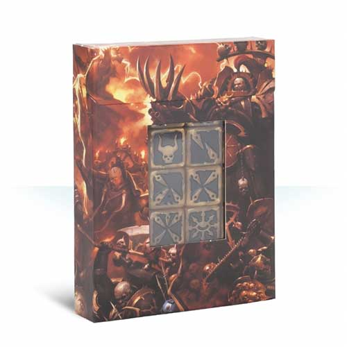 Pre-Order Chaos Space Marines Dice