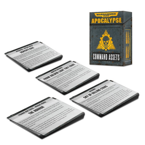 Apocalypse Command Asset Cards