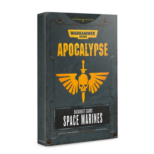Apocalypse Datasheet Cards: Space Marines