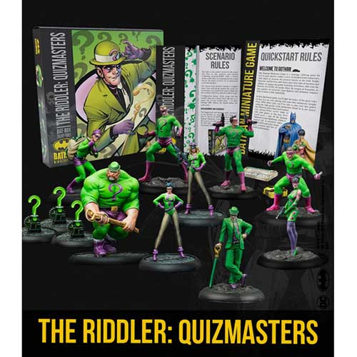 Bat Box - The Riddler: Quizmasters