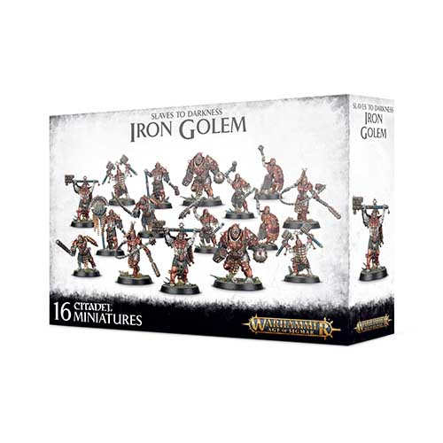 Pre-Order Slaves to Darkness, Iron Golem