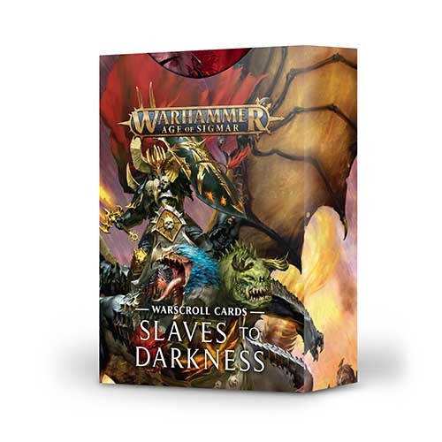 Pre-Order Slaves to Darkness Warscroll Cards