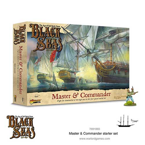 Black Seas: Master & Commander starter set