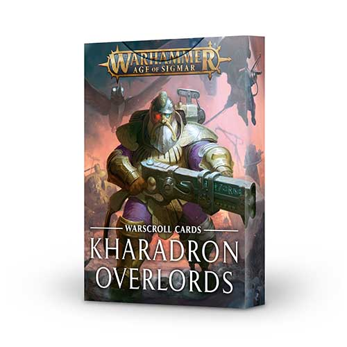 Karadron Overlords Warscroll Cards