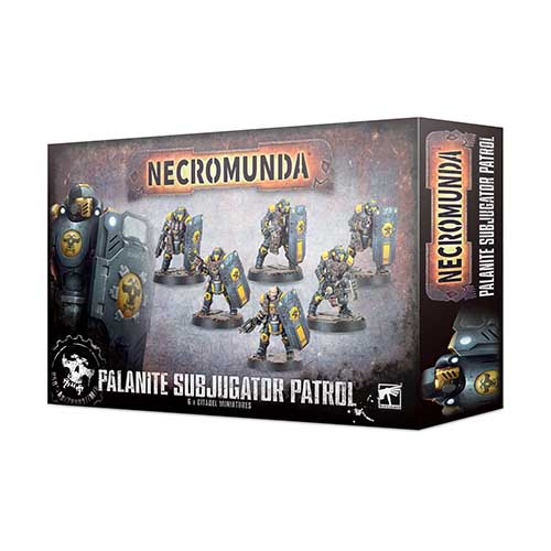 Necromunda: Palanite Subjucator Patrol