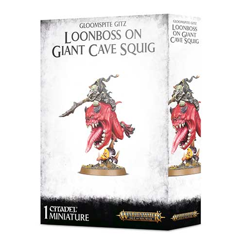 Pre-Order Loonboss on Giant Cave Squig