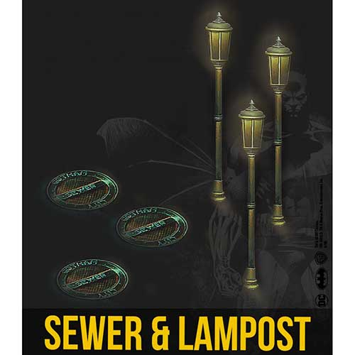 Sewer & Lamppost