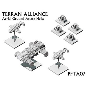 Terran Alliance Aerial Ground Attack Helix