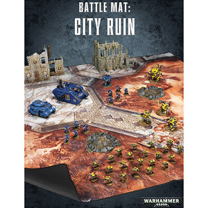 Battle Mat: City Ruin