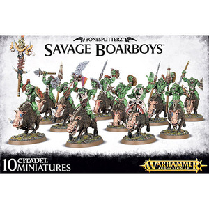 Savage Orruk Boarboys/Maniaks