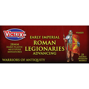 Imperial Roman Legionaries Advancing