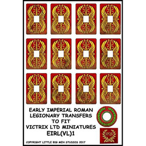 Early Imperial Roman Legionary Shield Transfers 1