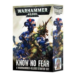 Know No Fear: A Warhammer 40,000 Starter Set
