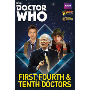 The First, Fourth and Tenth Doctors