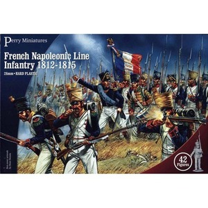 French Infantry 1812-1815