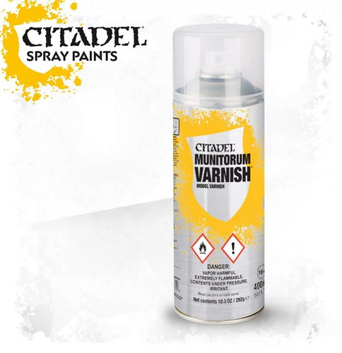 Munitorum Varnish Spray