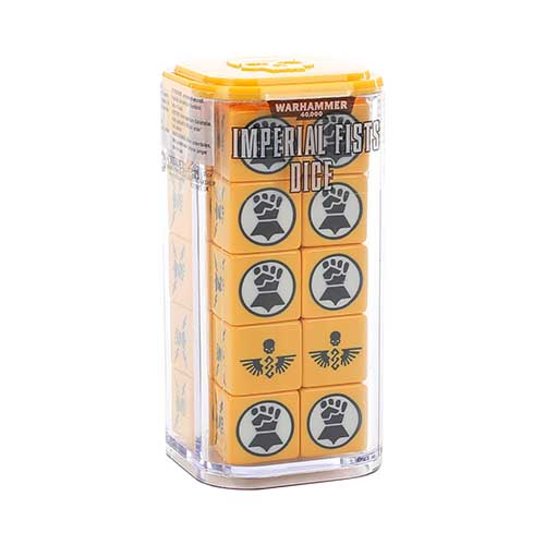 Space Marines Imperial Fists Dice