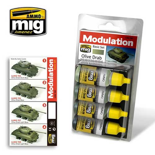 Modulation Basic Set: Olive Drab